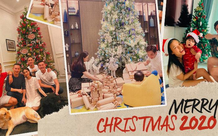 Sao Vbiz đón Noel: Dinh thự nhà Cường Đô La - Lan Khuê