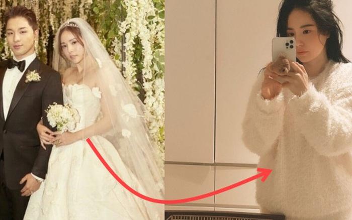 Min Hyo Rin đăng ảnh lộ điểm bất thường, dân tình đồn đoán vợ chồng Taeyang (BIGBANG) sắp có tin vui