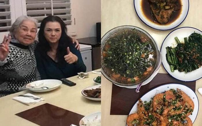 Ca sĩ Phương Loan xuất hiện sau tang lễ NS Chí Tài, gây xúc động khi nấu lại món ăn yêu thích của chồng lúc sinh thời