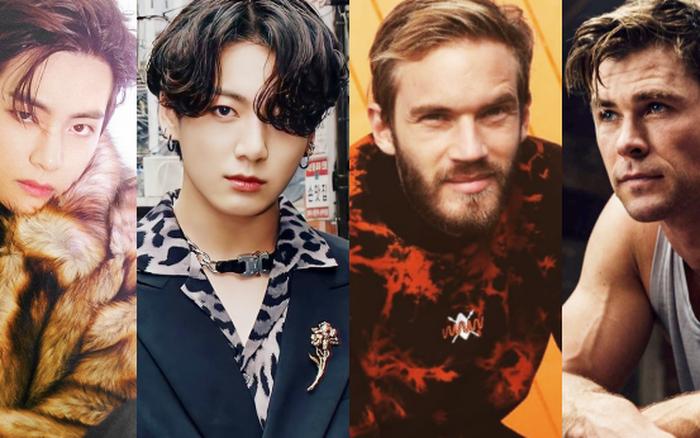 Tranh cãi top 100 gương mặt đẹp trai nhất thế giới 2020: BTS nhường ngôi cho ông hoàng YouTube, Tiêu Chiến vượt mặt David Beckham