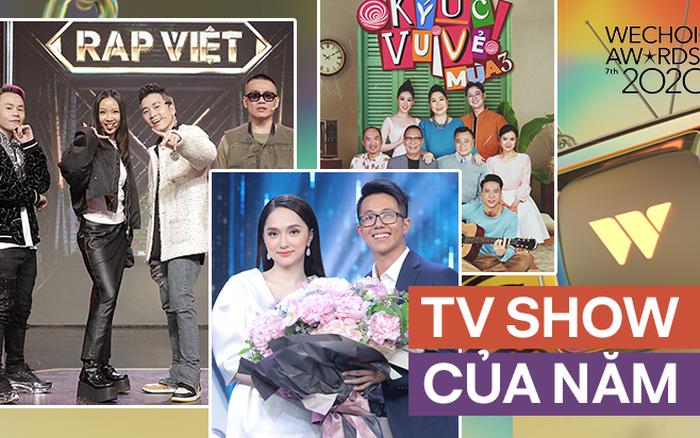 Rap Việt dẫn đầu đề cử TV Show Của Năm tại WeChoice với số phiếu áp đảo, Ký Ức Vui Vẻ bất ngờ vươn lên hạng 2 - người ấy là ai