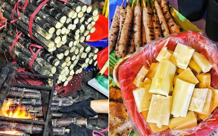 """Đi du lịch Hà Nội, cô gái Sài Gòn bất ngờ khi thấy món """"mía nướng"""" vỉa hè: Hoá ra là đặc sản mùa đông nức tiếng đất thủ đô"""