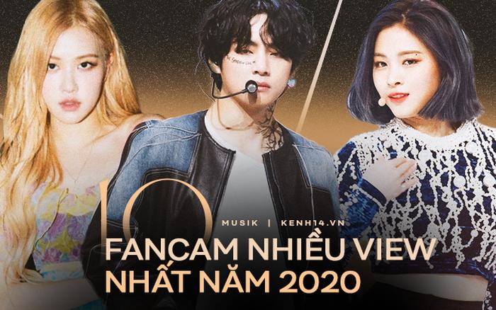 Top 10 fancam Kpop nhiều view nhất năm 2020: Anh em BTS tranh nhau ngôi đầu, BLACKPINK chỉ có 2 thành viên góp mặt