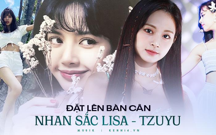 Vì đâu mà Lisa (BLACKPINK) vượt mặt Tzuyu (TWICE) trong Top 100 gương mặt đẹp nhất thế giới?