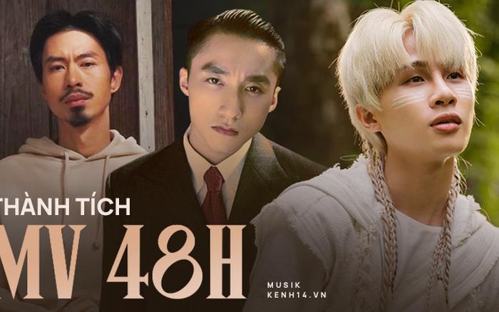 Ra MV gần thời điểm, thành tích 48 giờ của Sơn Tùng M-TP, Đen Vâu - JustaTee và Jack hơn kém nhau ra sao?