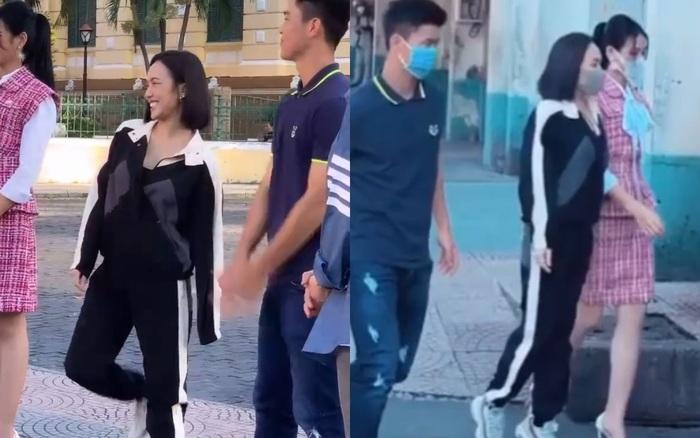 Bị lép vế khi đứng cạnh Hoa hậu Đỗ Thị Hà, Diệu Nhi liền có cách