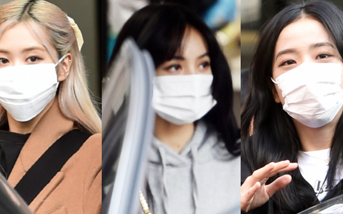 BLACKPINK gây náo loạn ngày đi làm: Lisa để tóc mới lấn át cả nữ thần Jisoo, Rosé lộ khuyết điểm kém lung linh