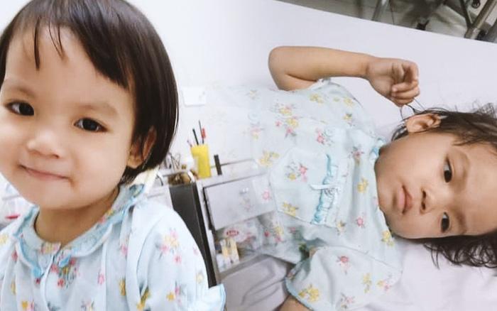 Bé gái 4 tuổi bị ung thư phải cắt bỏ 1 bên thận và câu nói nhói lòng trước ca xạ trị: