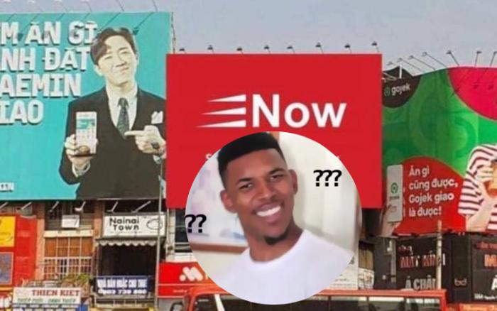 Thực hư sự xuất hiện của bảng quảng cáo Now tại