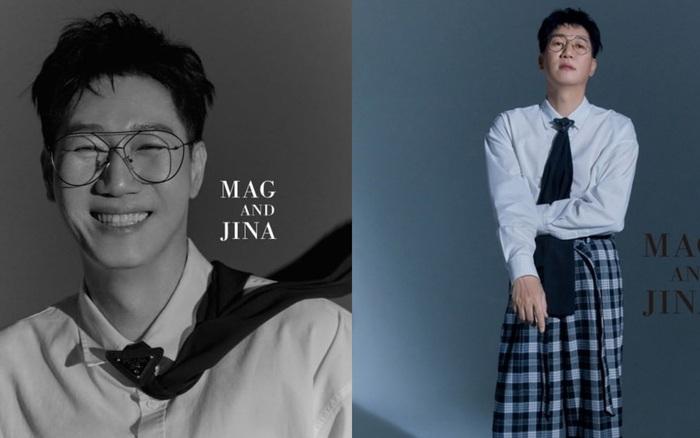 """Không thể nhận ra """"bố già"""" Ji Suk Jin (Running Man) trong bộ ảnh mới: U60 mà hack tuổi thần sầu, """"sờ tai"""" khác gì idol?"""