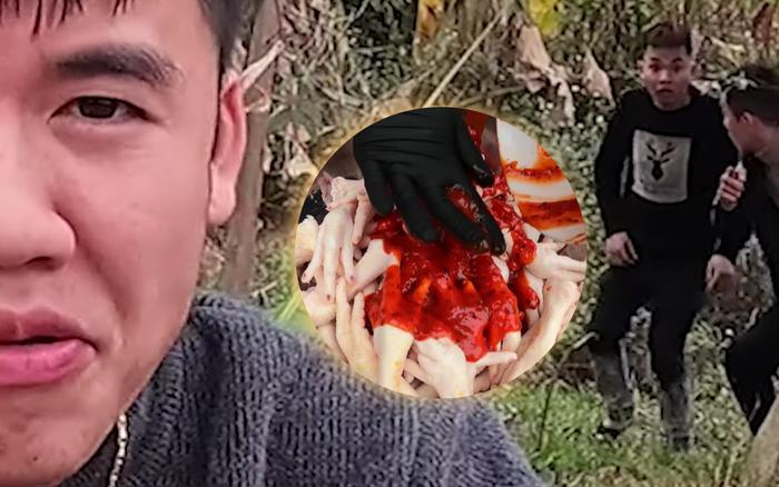 Con trai bà Tân cạch mặt 2 thanh niên bạn thân ăn chực, tự nướng 100 cái chân gà