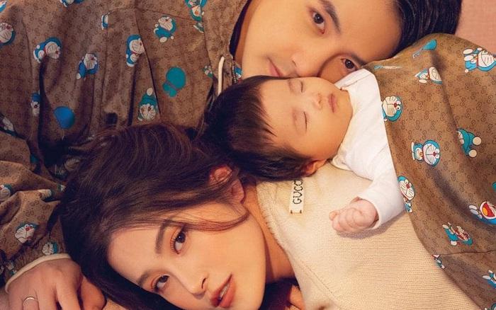 Gia đình Đông Nhi - Ông Cao Thắng gây bão với bộ hình tạp chí: