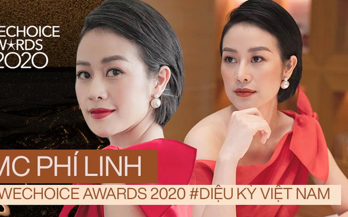 MC Phí Linh trải lòng về màn comeback ở WeChoice Awards 2020, hé lộ về điều diệu kỳ và gương mặt đề cử gây ấn tượng nhất mùa giải