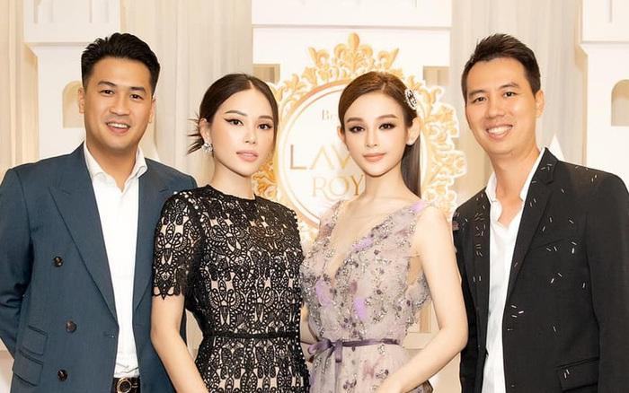 Vợ chồng Huyền Baby gặp Phillip Nguyễn - Linh Rin: Bức ảnh hội tụ tiền tài và danh vọng!