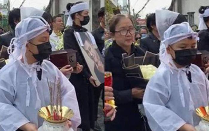 Cập nhật lễ an táng ca sĩ Vân Quang Long tại quê nhà: Con gái lớn ôm tro cốt, vợ cũ để tang, Linh Lan không xuất hiện