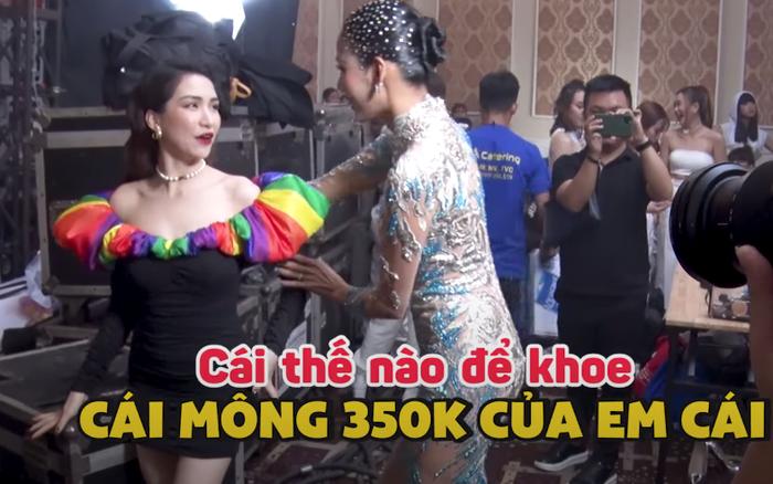 Chết cười khi xem Hòa Minzy hỏi Hoàng Thùy cách tạo dáng: