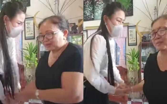 Linh Lan vừa bật khóc nức nở vừa níu tay nói xin lỗi, mẹ Vân Quang Long và vợ cũ phản ứng ra sao?