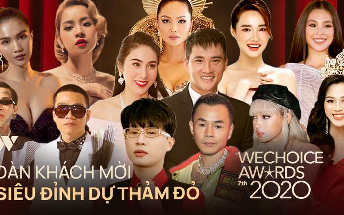 Công bố dàn line-up khủng đổ bộ siêu thảm đỏ WeChoice Awards 2020: Hơn 30 nàng hậu, 200 ca sĩ, diễn viên hot nhất Vbiz cùng góp mặt