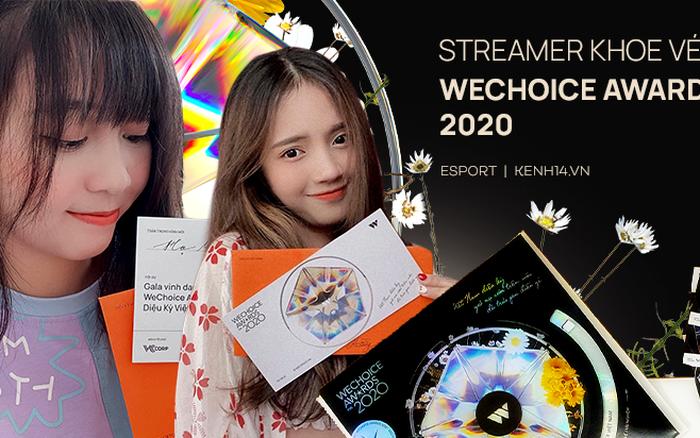 Giới streamer, game thủ rần rần khoe vé mời WeChoice Awards 2020: Nam Blue mong có cúp đem về, nhiều nhân vật đình đám lần đầu góp mặt