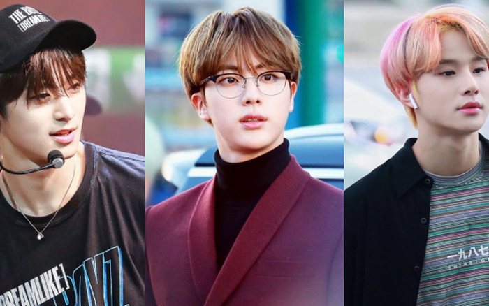 """3 idol Kpop body chuẩn """"bạn trai nhà người ta"""" chuẩn gu Hàn: Jin (BTS) vai rộng cực phẩm, 2 idol body tam giác ngược còn đỉnh hơn?"""
