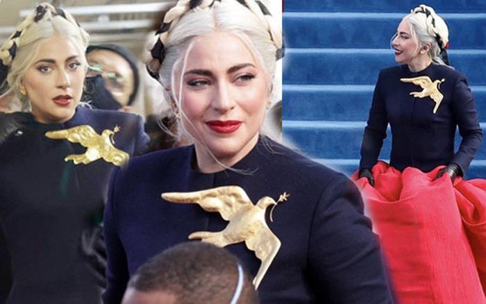 Khoảnh khắc Lady Gaga lên đồ lồng lộng, visual đỉnh cao trong lễ nhậm chức của Tổng thống Mỹ Joe Biden gây bão MXH