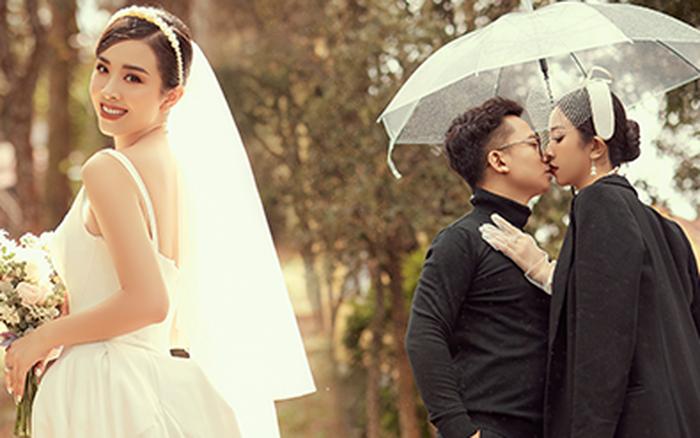 Á hậu Thuý An tung ảnh cưới lung linh trước thềm hôn lễ: Nhan sắc cô dâu