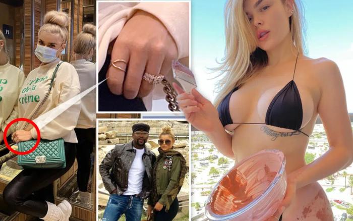 Võ sĩ kiếm tiền giỏi nhất thế giới được cho đã đính hôn cùng cô nàng vũ nữ, hào phóng tặng bạn gái chiếc nhẫn kim cương siêu to khổng lồ