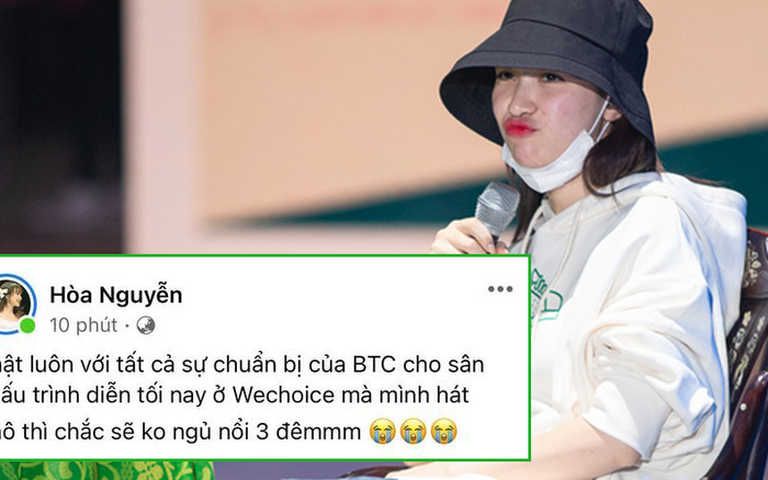 """Hoà Minzy háo hức chờ đến màn kết hợp lần đầu với Hiền Hồ tại WCA 2020, khẳng định: """"Lỡ hát phô thì ngủ không nổi 3 đêm"""""""