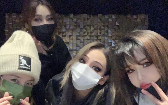 2NE1 gây náo loạn đêm qua khi tụ họp đông đủ mừng sinh nhật em út Minzy, lời chia sẻ của Dara gây xúc động