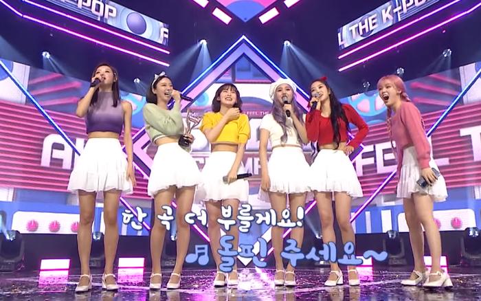 Xuất hiện girlgroup bị cho là hát encore
