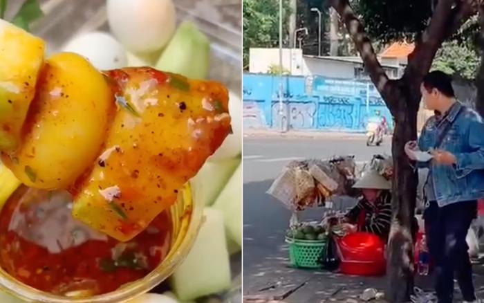 Còn ai sáng tạo hơn các gánh hàng rong Sài Gòn, cô dì lại vừa chế ra món