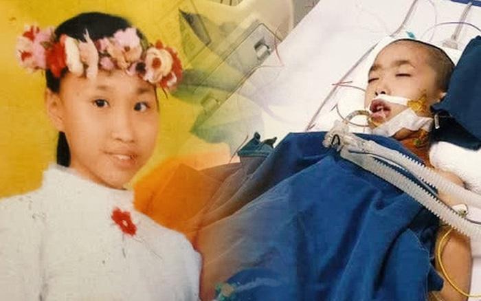 Cô bé 12 tuổi phẫu thuật não để điều trị ung thư:
