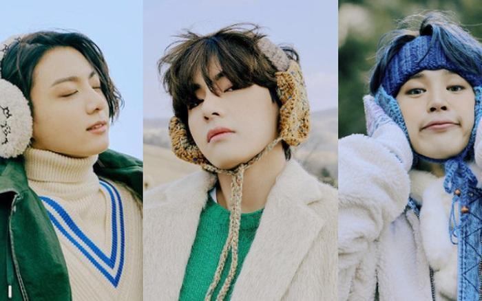 """Lâu lắm rồi BTS mới """"bùng nổ"""" nhan sắc thế này: Mái tóc """"kỳ quan thứ 8"""" của Jungkook chiếm spotlight, V đúng là cực phẩm hiếm có"""