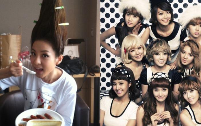 Tranh cãi nhóm nhạc nữ cười nhạo kiểu tóc dị của Dara (2NE1), SNSD bỗng bị