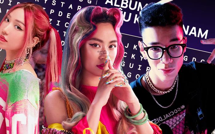 Dân tình phát sốt với bảng chữ cái đoán dàn line-up trong album WeChoice 2020, sương sương hơn 20 nghệ sĩ Vpop sẽ góp mặt?