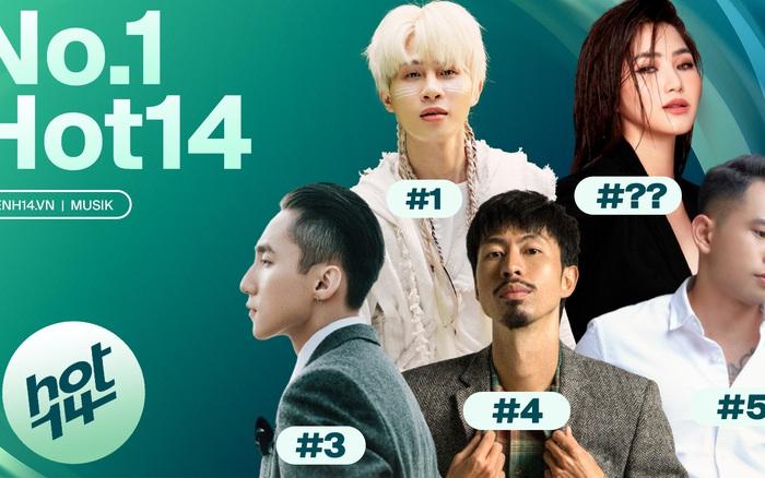 Jack soán ngôi no.1 của Sơn Tùng M-TP với Đom Đóm, Chúng Ta Của Hiện Tại xuất sắc đạt thứ hạng nhạc số cao nhất BXH HOT14 tuần này