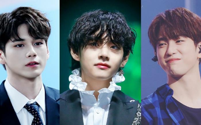 Mắt 2 mí xưa rồi, dàn idol nam mắt 1 mí này đang dẫn đầu xu hướng visual: Toàn nam thần, Jin và V (BTS) đạt đến tầm toàn cầu