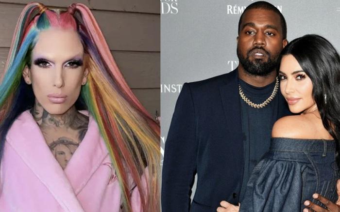 """NÓNG: Kanye West bị nghi ngoại tình với """"ông hoàng make up"""" Jeffree Star giữa drama ly hôn Kim, xôn xao phản ứng của chính chủ"""