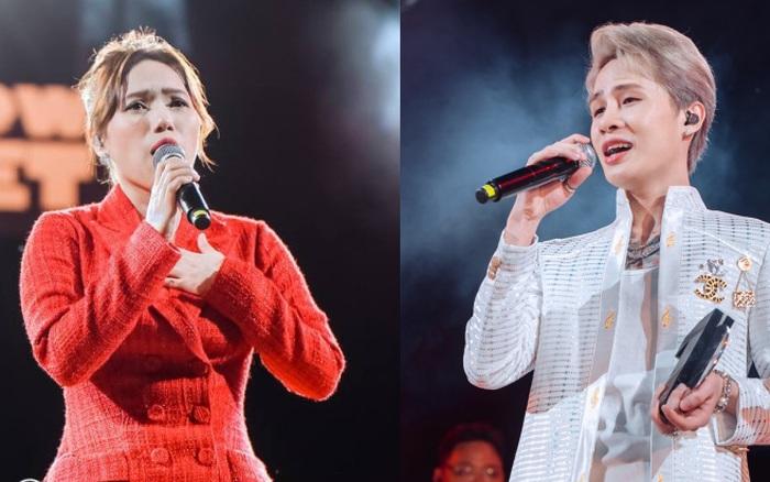 """Jack, Thuỳ Chi khiến fan """"mê mẩn"""" với loạt hit, Juky San - LyLy cùng dàn nghệ sĩ làm bùng nổ sân khấu chưa từng có tại HOT14 WOW Sunset Fest"""