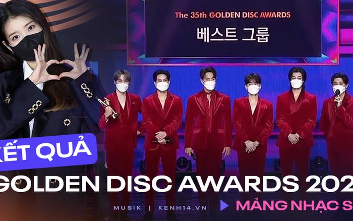 BTS xuất hiện đủ 7 người nhận giải nhưng lại mất Daesang về tay IU tại Grammy Hàn Quốc 2021; BLACKPINK, Red Velvet ở nhà vẫn có giải