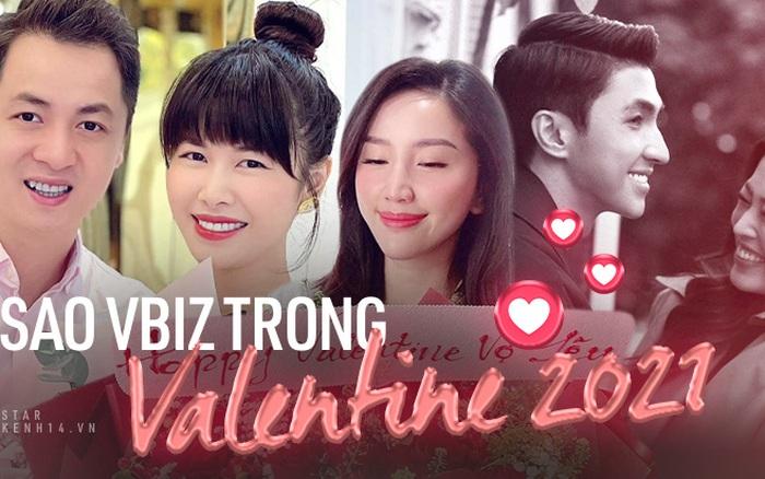 Sao Vbiz trong ngày Valentine 2021: