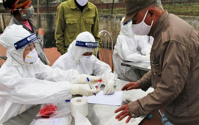 Hà Nội yêu cầu những người đã đi, đến, về từ huyện Cẩm Giàng (Hải Dương) phải lấy mẫu xét nghiệm Covid-19