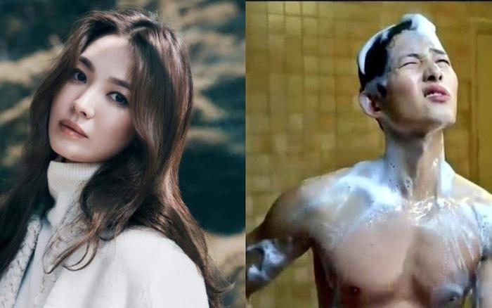 Song Joong Ki khoe si cu la