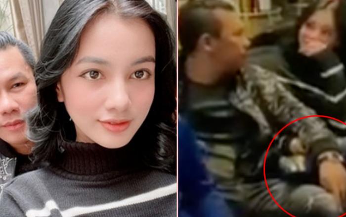 Lộ clip gái xinh An Giang 2k2 ngồi với chồng cũ Lệ Quyên, bàn tay của đại gia tiết lộ mối quan hệ đặc biệt