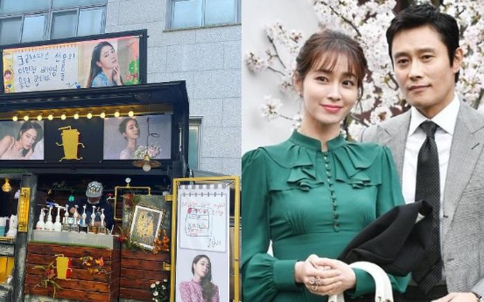 Xe cà phê hot nhất Kbiz: Mỹ nhân Vườn Sao Băng được ông xã Lee Byung Hun gửi tặng, chi tiết về quý tử 6 tuổi bí ẩn gây sốt