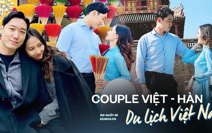 Cặp đôi gái Việt - trai Hàn và hành trình vi vu khắp Việt Nam: Gì cũng ok chỉ cần em thích!
