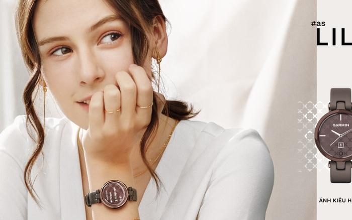 Thêm một chiếc smartwatch chính thức ra mắt tại Việt Nam, phái đẹp được ưu ái!