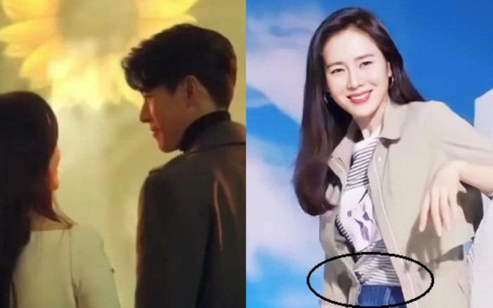 Giữa nghi vấn mang thai, Son Ye Jin xuất hiện bên Hyun Bin nhưng nhất quyết che vóc dáng?