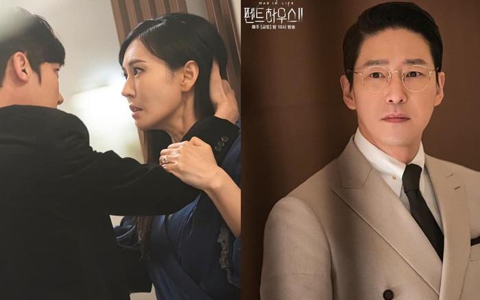 Đang ngấu nghiến hôn chồng cũ, ác nữ Seo Jin bị chồng mới bắt sống tại trận ở Penthouse 2 tập 3