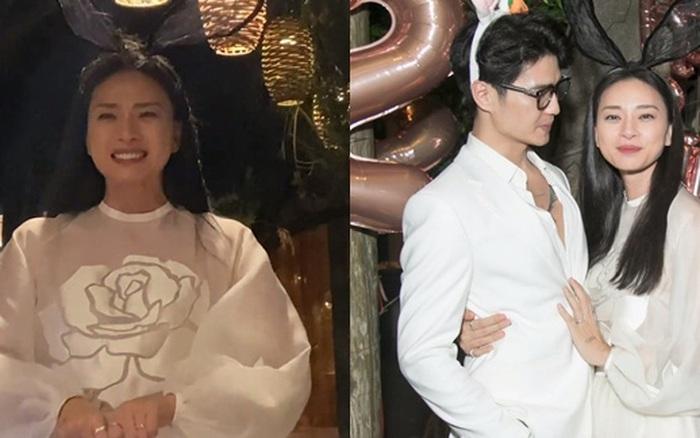 """Toàn cảnh tiệc sinh nhật của Ngô Thanh Vân: Nàng ôm chặt eo Huy Trần, khóc nức nở bày tỏ """"Tôi có Huy, tôi rất hạnh phúc!"""""""